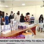 Ondo State Government Distributes PPE To Health Facilities