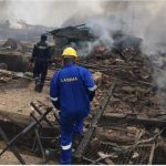 Gas Tanker Explodes In Lagos
