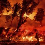 10 Dead, 16 Missing in Northern California Wildfire