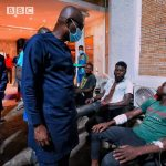 Governor Sanwoolu Visits #LekkiMassacre Victims
