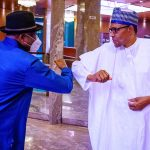 Goodluck Briefs President Buhari on Mali Crisis