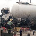 One Dead in Lagos Gas Tanker Accident