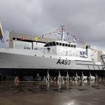 Nigerian Navy Launches a New Survey Vessel