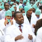 Doctors March Against Ondo State Government