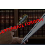 Certificate Forgery: When Political Success Goes Awry