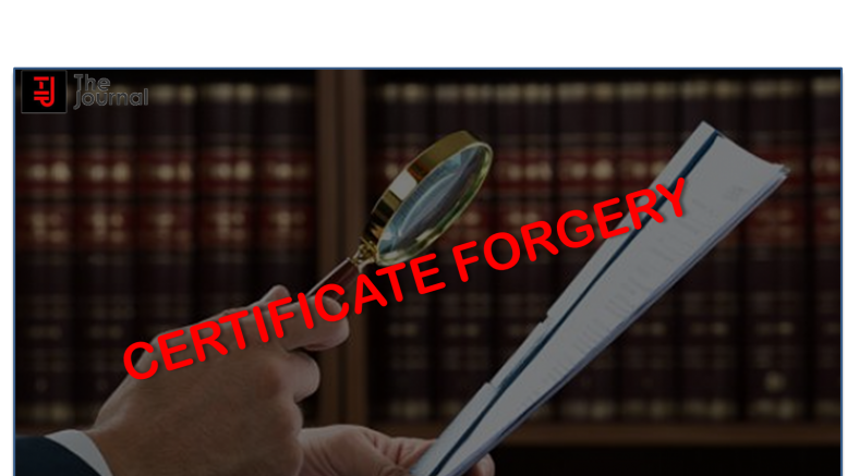 certificate forgery