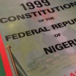 1999 Constitution: To Change or to Amend?